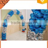 Best selling custom shape foil balloon balloon arch stand, balloon centerpiece stand, stand balloon for party decoration