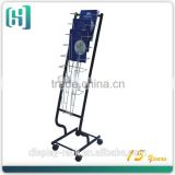 hanging file metal floor catalogue, bruchure, magazine rack HSX-S0148