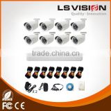 LS VISION 8 Channel 960P AHD Home Security Cameras System DVR kit For Project