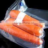 Sous vide vacuum zipper valve bag for fresh food PP+nylon sachet packaging film