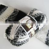 ring spun yarns polyester sewing thread Eco-Friendly Ring Spun 100% Spun Polyester Yarn for Sewing Thread