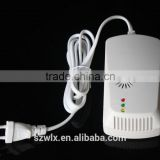 Factory Combustible Gas Leakage Detector working with Solenoid valve for Home Security system