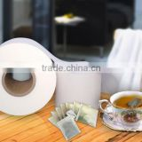 12.3g, 16.5g non-heat seal filter paper and heat seal filter paper for making high quality empty tea bag.