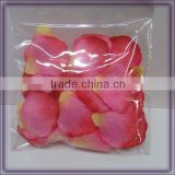 artificial silk wedding rose petal poppers(AM-F-80)