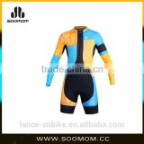 race performance cycling female skin suit
