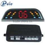 4 Sensors Car Parking Sensor Car Electric Sensor LED Display Buzzer Beeper Alert Parking System