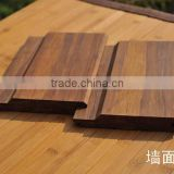 Strand woven bamboo cladding