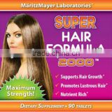 USA Manufactured Advanced Formula Hair Supplement