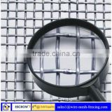 Top quality Stainless steel crimped wire mesh for mining sieve screen mesh / stainless steel woven wire mesh