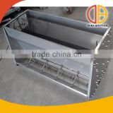 poultry equipment metal baby pig feeder