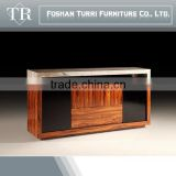 modern marble top and MDF sideboard buffet for home furniture