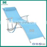 Hot Sale Foldable chaise lounge chair with Pillow