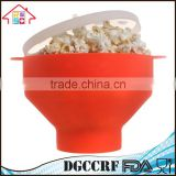Food Grade Microwave Silicone Popcorn Maker Popcorn Poppers