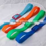 beach items color silicon belts for unitsex