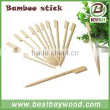 Popular flag bamboo paddle skewer pick