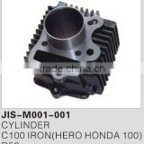 Motorcycle parts & accessories cylinder/engine for C100 IRON(HERO HONDA 100)