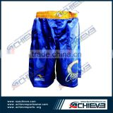 2015 Professional adult training mma short adult man wear boxing training pants for fighting