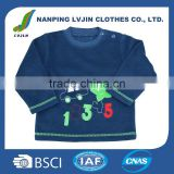 Long sleeve baseball New child t shirt kids cotton t-shirt wholesale for baby	boy