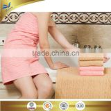 china supplier wholesale luxury bordered hotel bath towel set 3 pieces bath towel face towel