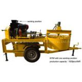 interlock clay brick machine M7MI hydraform brick making machine in south africa
