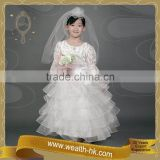 Gorgeous Bride for girls kids wedding Dress