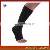 Men's Recovery Knee High Open-Toe Compression Sleeves /Graduated 15-21mmHg Support Compression socks nurses ---AMY11054
