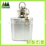 Custom Portable Men's stainless steel wine flagon Outdoor Travel hip flask