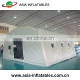 Beautiful inflatable Airtight tunnel Wedding tent inflatable emergency shelter, portable medical hospital tent