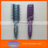 Plastic hair styling brush