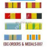 Medal Ribbon for Military, Police, Service Organizations, Clubs, idividuals