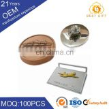 Custom metal leather paper weight with different kinds