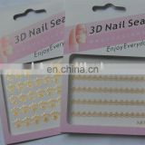 Popular 3D Nail Sticker, Crystal Nail sticker