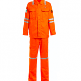 fire proof reflective winter work coverall suits