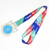 Highigh quality wholesale sports medal lanyard custom sublimation lanyard