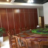 Portable wall hotel room mobile wooden decorative partition walls