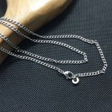 Titanium Necklace, Pure Titanium Chain Necklace for Sensitive Skin, Curb Chain Titanium Necklace, Add Your Own Pendant