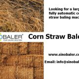 Corn Straw Baler Machine