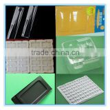 PVC/PET/PS/PE/pp Blister packaging vacuum thermoforming Plastic wrap lined