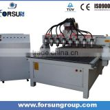 8 heads cnc wood working cnc router /best sales table/bed /sofa making cnc router with multi-heads