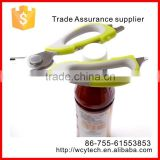 Kitchen Shears / Kitchen Scissors with Soft Rubber Grips Along with a Magmatic Fridge Holster