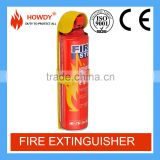 Howdy latest fire stop 500ml small foam spray fire extinguisher mini car equipment                                                                         Quality Choice