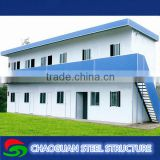 Low Cost Prefabricated Sandwich Panel Wall Cladding Light Steel Villa / prefabricated villa / light steel modular homes