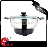 Durable High Quality Stainless Steel Electric Multi Cooking Pot / Travel Pot / Soup Pot