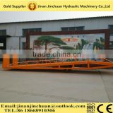Adjustable and movable hydraulic loading container dock ramp by manual or motor for houseware