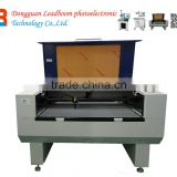 co2 laser cutting machine for cloth, paper, leather, PUleather, acrylic, wood 60W/80W laser power