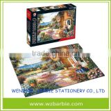 Wholesale OEM Custom Full Color Printed Puzzle 1000 Piece Jigsaw Puzzle