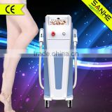 2014 Golden manufacture SHR super hair removal machine / ipl lazer /laser hair removal equipment