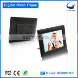 popular 8 inch digital photo frame, digital picture frame with wholesale price, high quality with mass production