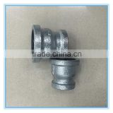 Best price hot dipped galvanized square edge female socket Malleable iron socket pipe fittings