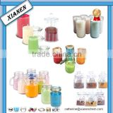 Hot Unique Square recycled glass candle jars wholesale for candle making                                                                                                         Supplier's Choice